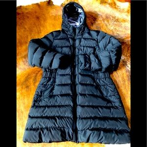 Northface 550 Hooded Goose Down Puffer Coat